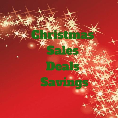 Christmas Sales Deals Savings Discounts
