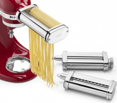 KitchenAid Stand Mixer 3 Piece Pasta Roller and Cutters