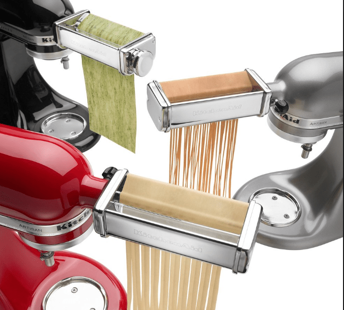 KitchenAid Stand Mixer Pasta Roller Cutter Set - Is This The ...