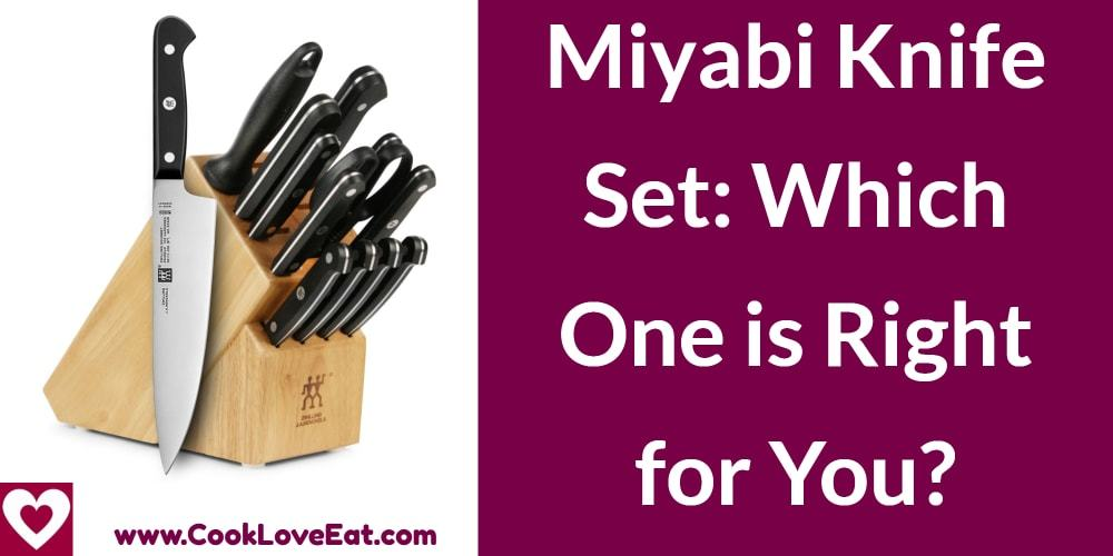 Miyabi Knife Set: Which one is right for you?