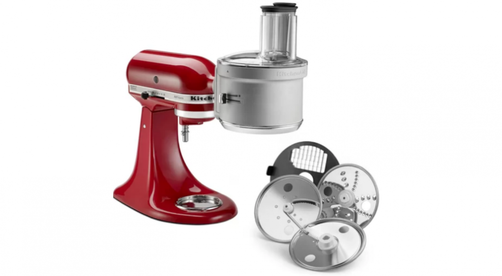 Kitchenaid Food Processor Attachment With Commercial Style