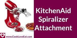 KitchenAid Stand Mixer Spiralizer
