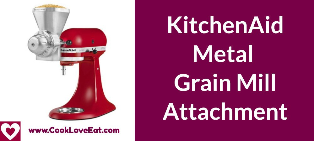 KitchenAid Metal Grain Mill Attachment