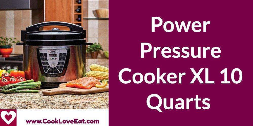 Power Pressure Cooker XL 10